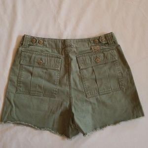 Ralph Lauren fray shorts, size 6